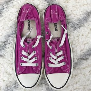 Converse Chuck Taylor purple Shoreline Slip On